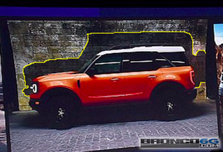 The New Bronco Is Hidden In This Baby Bronco Photo