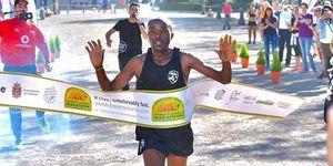 Ganador, maratón, cuesta, abajo, granada