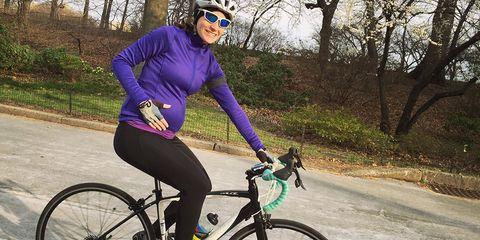 lauren matison pregnant cycling