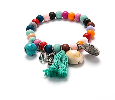 Bracelet, Bead, Jewellery, Fashion accessory, Turquoise, Turquoise, Jewelry making, Body jewelry, Big hole bead, Art,