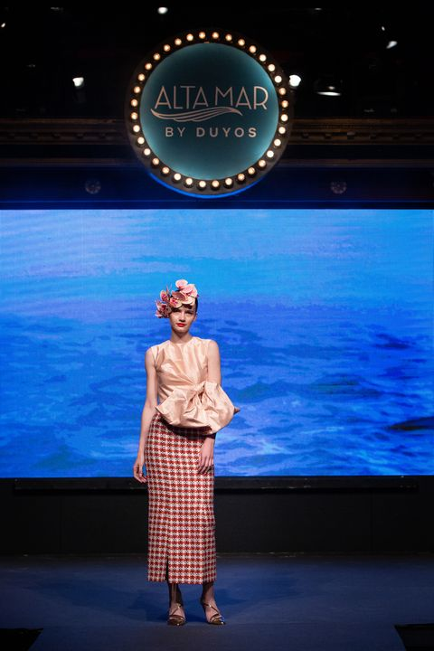 Desfile crucero Juan Duyos Alta Mar Netflix elle
