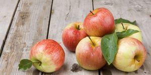 Koken met appel