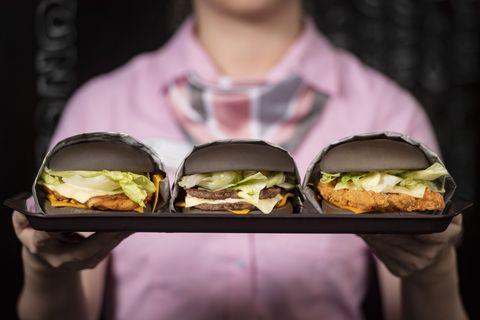 麥當勞黑堡「極黑浪潮」
