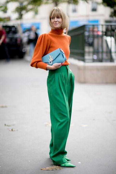 comprar online 23d49 8eadb El pantalón ancho se lleva, y mucho - Looks con pantalones ...