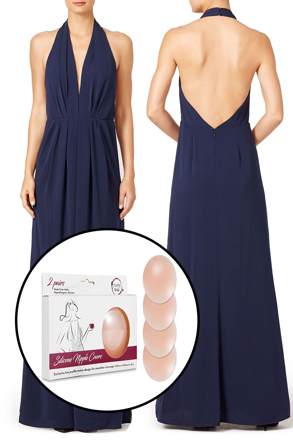 Solutions for Backless Dresses