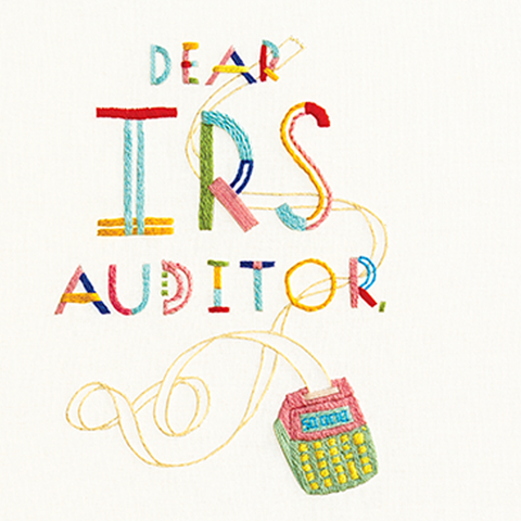 irs audit embroidery
