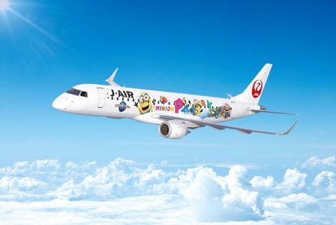 日本航空株式会社、USJ