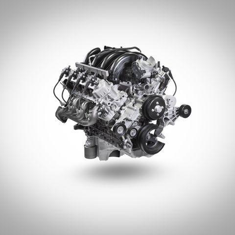 7.3 Powerstroke Specs >> Ford 7 3 Liter Pushrod V 8 Makes 430 Hp And 475 Lb Ft Of Torque