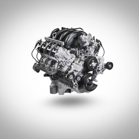 Ford Keeps It Old-School with the All-New 7 3-Liter Gas V8