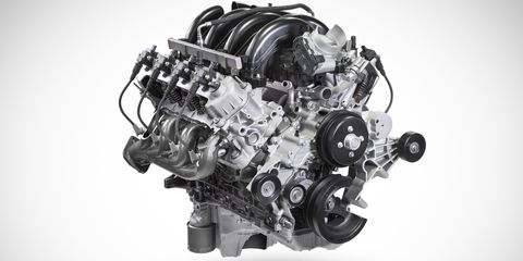 ford's all new 73 liter v8 gasoline engine that debuted last month in f series super duty pickups is also available in super duty chassis cab, f 650 and f 750 medium duty trucks, e series, and f 53 and f 59 stripped chassis this 73 liter v8 generates more torque and power than the 68 liter v10 engine it replaces