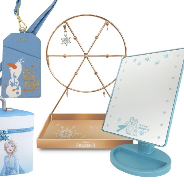 7-ELEVEN《冰雪奇緣2》最新集點送登場!冰雪奇緣人氣角色Elsa、Anna、雪寶化身行李箱、證件套、化妝鏡