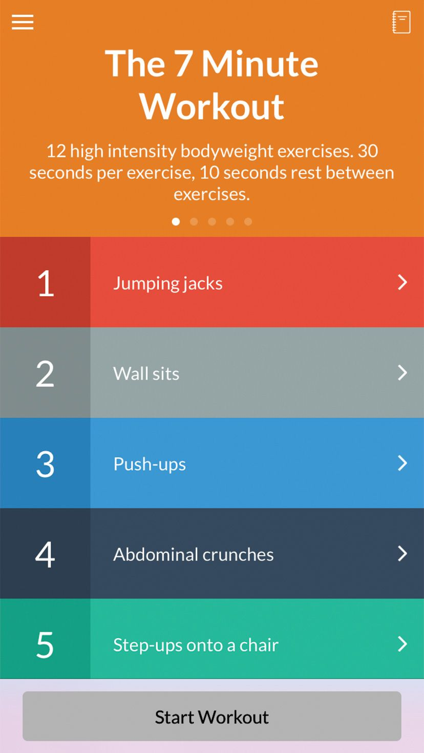 Wahoo 7 Minute Workout
