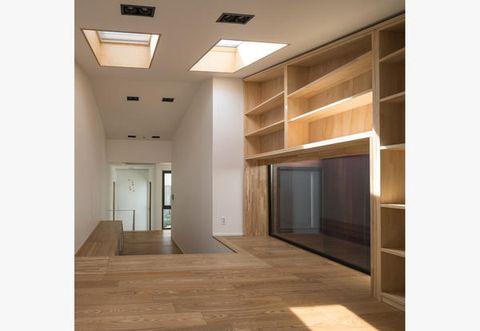 La casa moderna con muri in mattorni manhwaricano house for Casa moderna corea