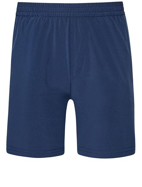 Clothing, Shorts, Active shorts, Blue, board short, Sportswear, Trunks, rugby short, Bermuda shorts, Pocket,