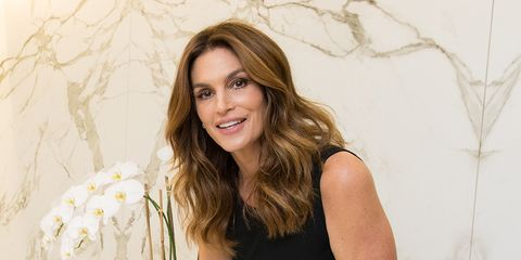 cindy crawford at home