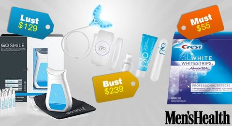 Must, Lust, Bust: Teeth Whitener