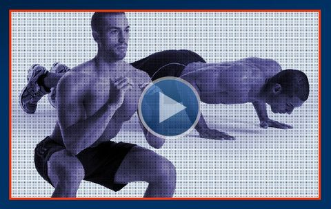 The 3-Minute Squat and Pushup Challenge | Men's Health