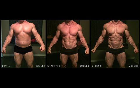 This Guy Lost 30 Pounds and Got Absolutely Shredded. See How He Did It