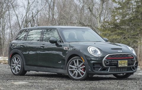 Test Drive And Review The 2017 Mini John Cooper Works Clubman All4