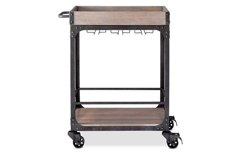Franklin Bar Cart and Wine Rack
