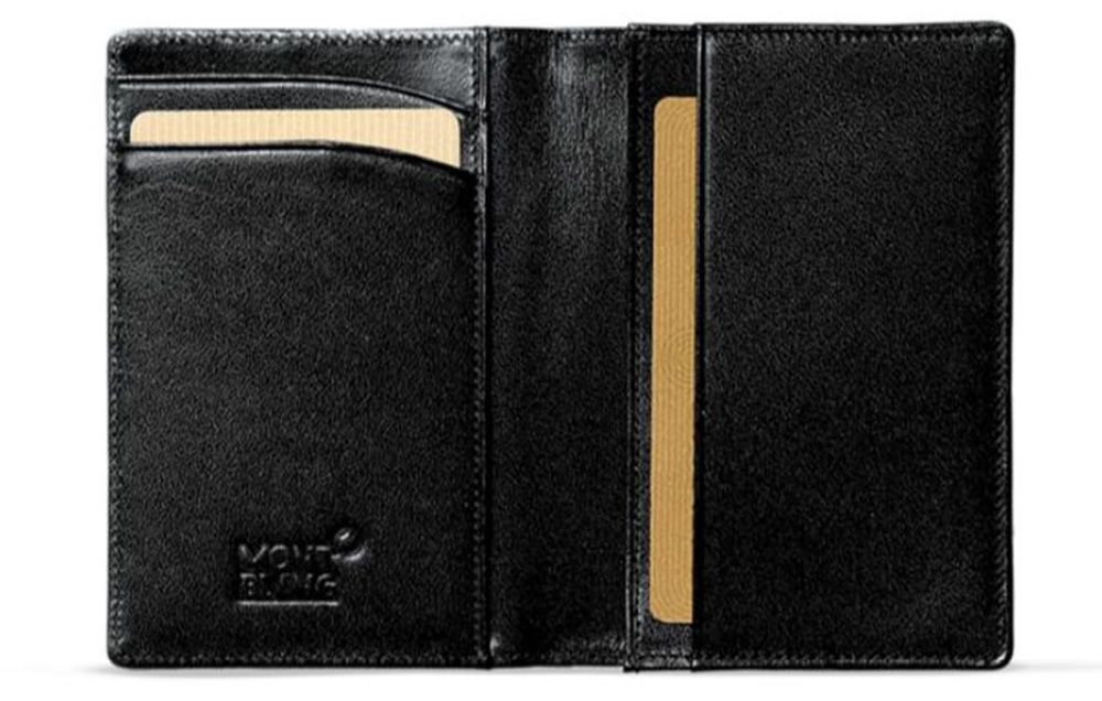 Men's Accessories Mens Black Or Brown Leather Wallet Credit Card Holder Personalised Father Dad Uk