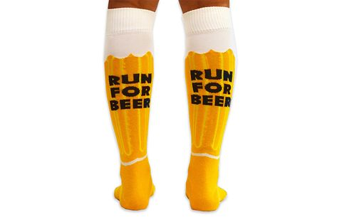 run for beer socks