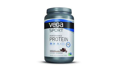 Best All Around: Vega Sport Protein Powder, Chocolate