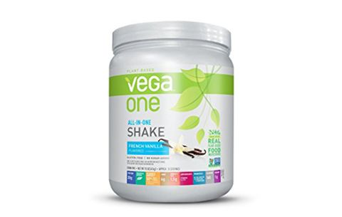 Best Do-Everything Mix: Vega One All-In-One Plant Based Protein Powder, French Vanilla