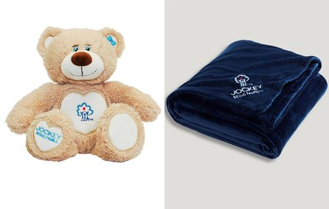 A Jockey Teddybear and Blanket for Your Favorite Niece or Nephew