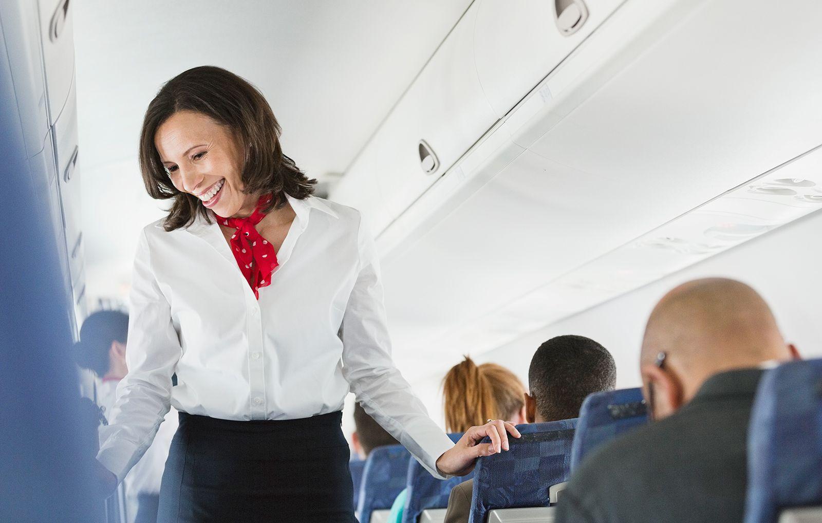 Flight attendant hookup stories