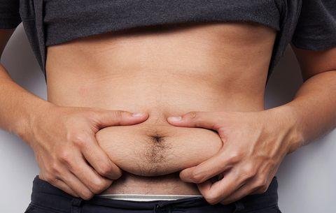 Decreased sex drive in overweight men