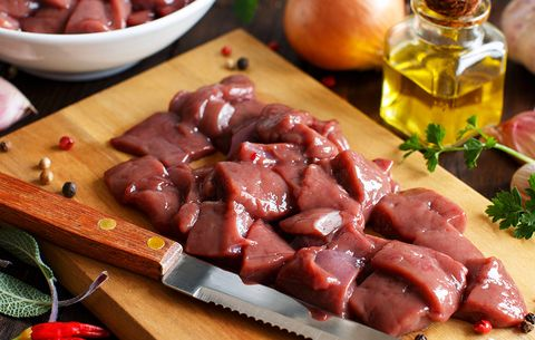 vitamin foods liver beef offal meat diet