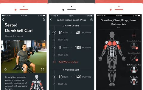 best fitness apps for 2018