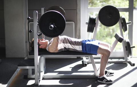 How To Bench More Weight Bench Press Form Tips Men S Health