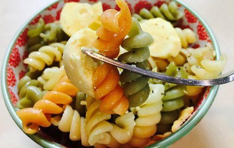 egg yolk tricolor pasta