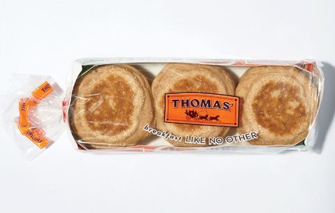 THOMAS' 100% WHOLE WHEAT ENGLISH MUFFINS