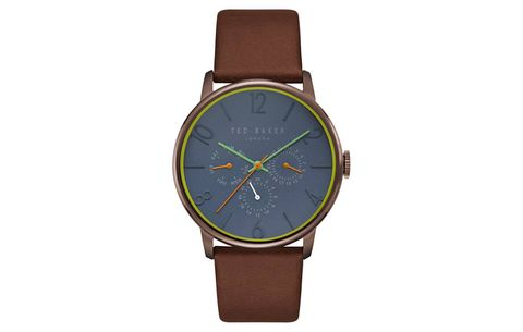 Ted Baker London Thomas Chronograph Leather Watch