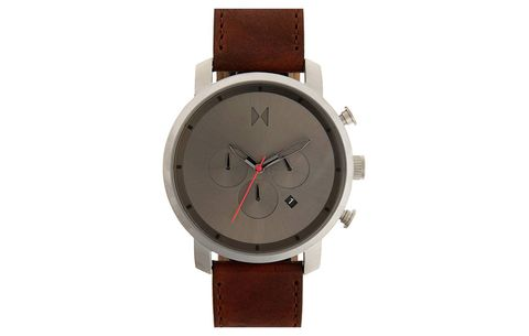 MVMT Chronograph Leather Strap Watch