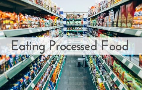 Eating processed food