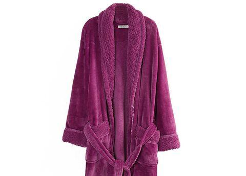 Organic Cotton Flannel Robe
