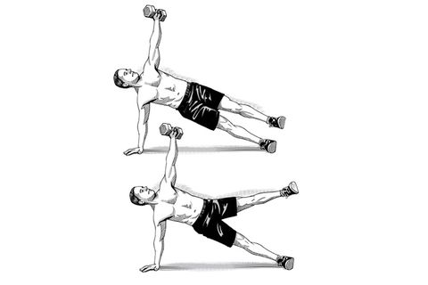 weight side plank