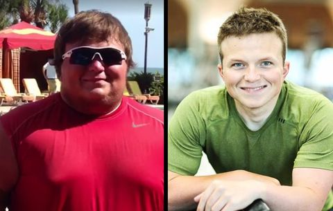 This Man Used to Hate the Way He Looked—Then He Lost 176 Pounds