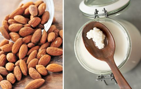 almonds-kefir