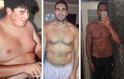 3 Lessons That Helped This Man Lose 122 Pounds, Transform His Abs, and Change His Life