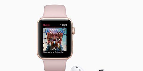 apple watch streaming music