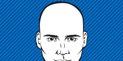 Shaving bald