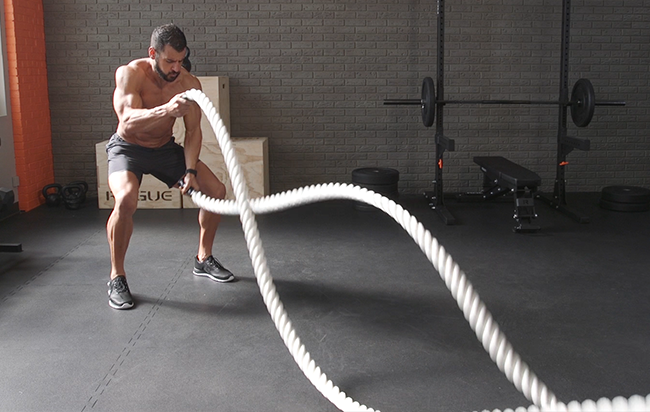 rope battle workout fitpass