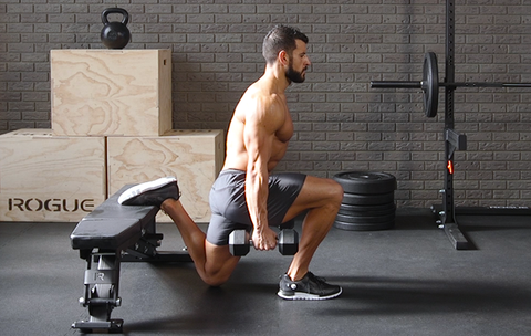 The Quadriceps-and-Hamstring Combo Move You'll Want to Do Every Leg Day