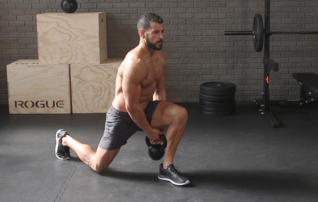The Lunge That Smokes Your Hips and Thighs