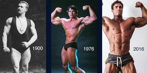 bodybuilding physique changes